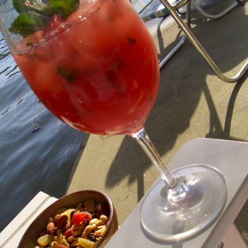 #AfterOrangeCounty.com, #Lake Arrowhead, #Watermellon Margarita