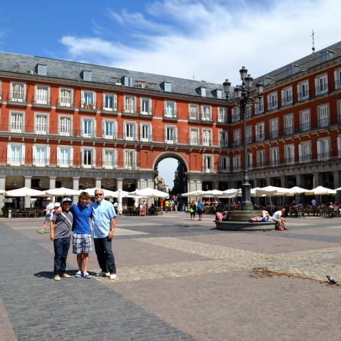 Plaza Major #AfterOrangeCounty.com, #Madrid, #Spain