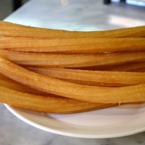 #Chocolateria San Grimes, #Churros #AfterOrangeCounty.com, #Madrid, #Spain