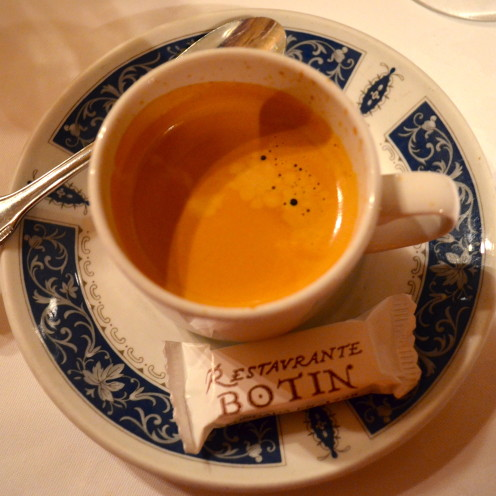 #Spanish Espresso at Botin#Madrid, Spain,#AfterOrange, County.com