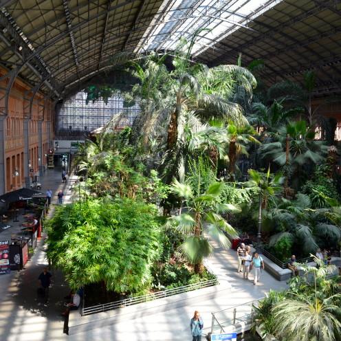 #Atocha Train Station, #Madrid, #Spain, www.AfterOrangeCounty.com