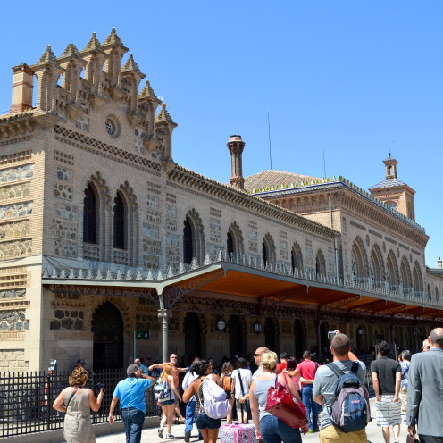 #Toledo Train Station, #Spain, www.AfterOrangeCounty.com