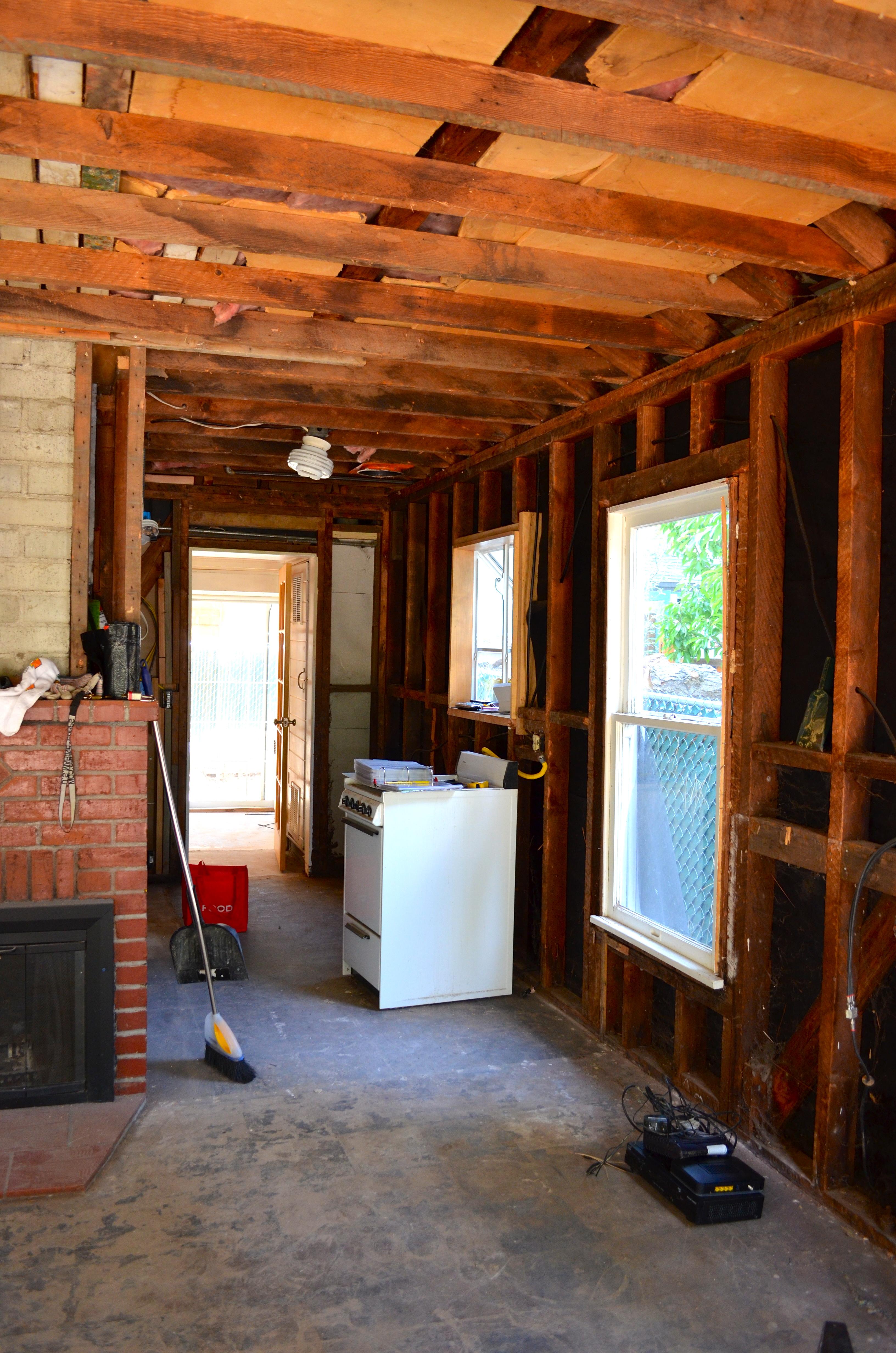 Big Bear Cottage Renovation Part 2 Demolition Time