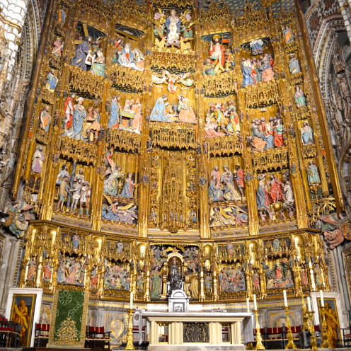 #Cathedral of Toledo, Spain (Catedral de Toledo),#AfterOrangeCounty.com