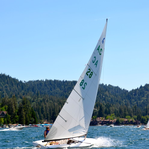#AfterOrangeCounty.com, #Lake Arrowhead, #Sailing