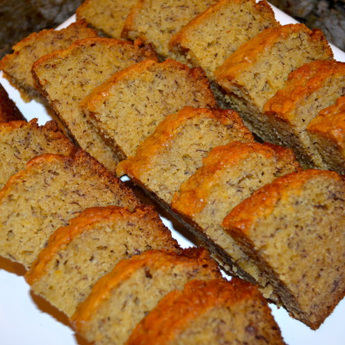 Super Moist & Delicious Banana Bread #AfterOrangeCounty.com, #Gifts From The Kitchen