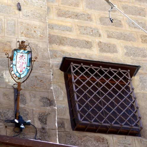 Iron Window Grate, #Toledo, Spain