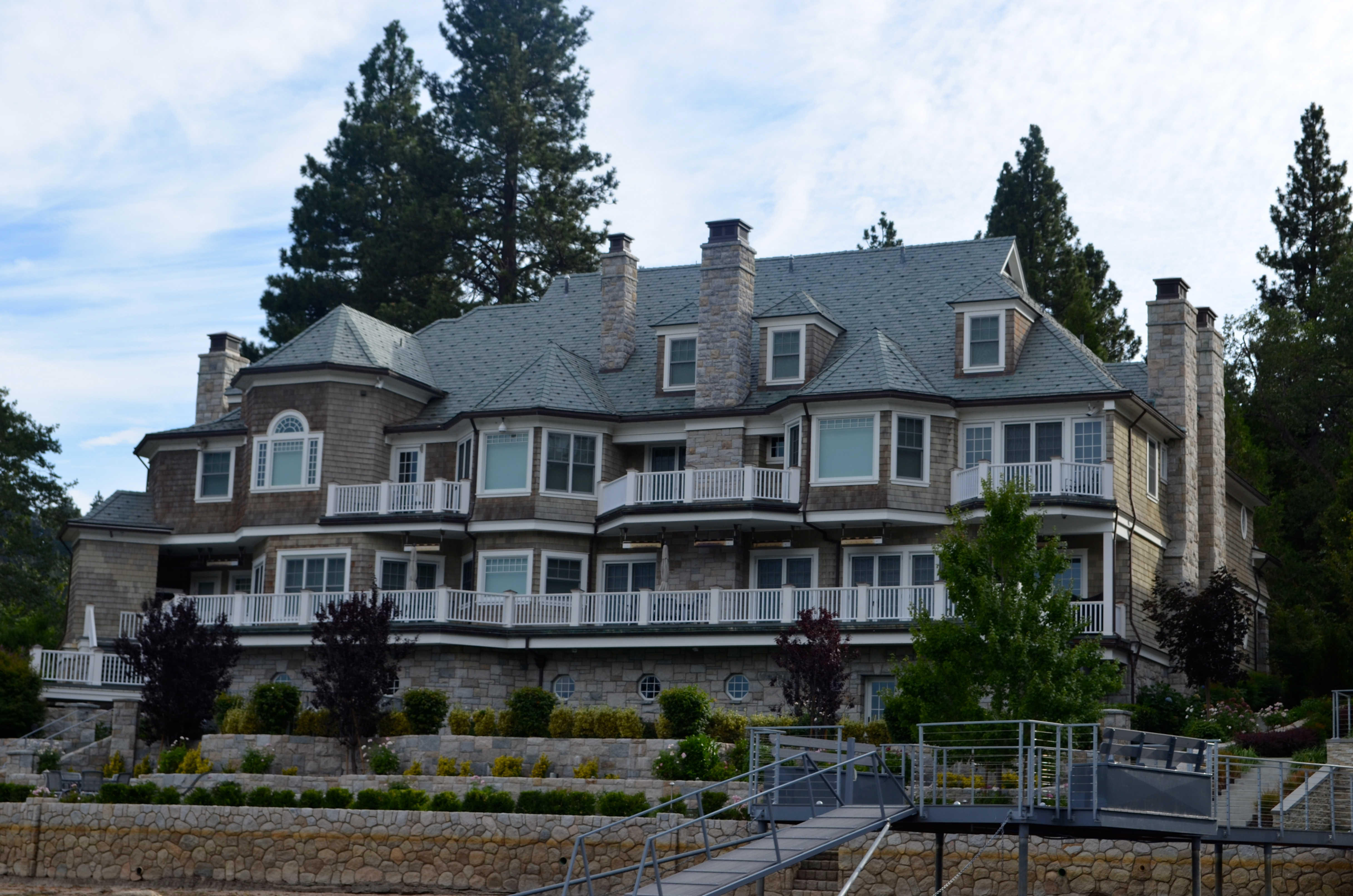 Lake arrowhead a little slice of paradise after for Pictures of the home