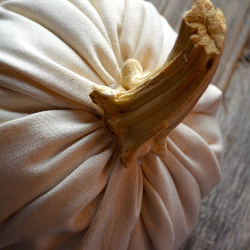 #DIY cloth pumpkins tutorial,#AfterOrangeCounty.com