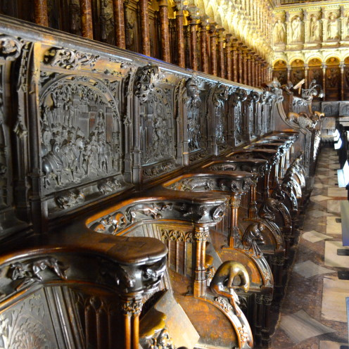 #Choir #Cathedral of Toledo, Spain (Catedral de Toledo),#AfterOrangeCounty.com