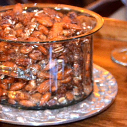 #Sweet & Spicy Roasted Mixed Nuts #AfterOrangeCounty.com
