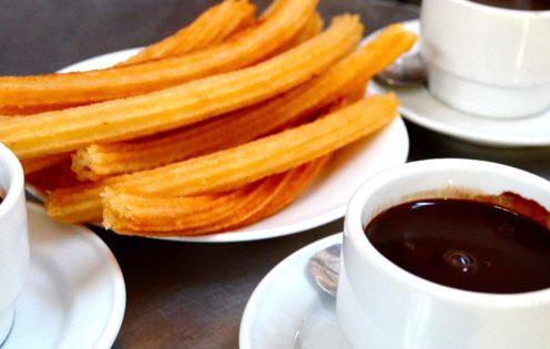 CHOCOLATERIA SAN GINES - CHURROS & CHOCOLATE IN MADRID, SPAIN | www.AfterOrangeCounty.com