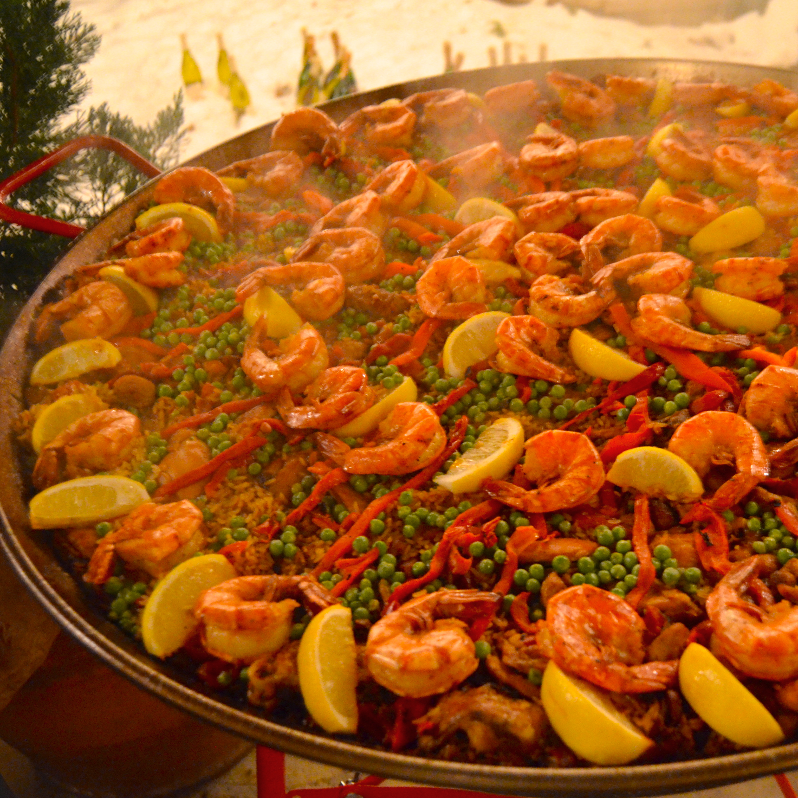 Spanish Style christmas spanish style - how to make paella - after orange county