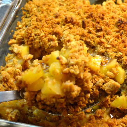 Apple Crisp, www.AfterOrangeCounty.com