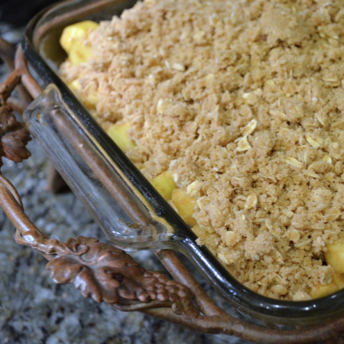 Apple Crumble, www.AfterOrangeCounty.com