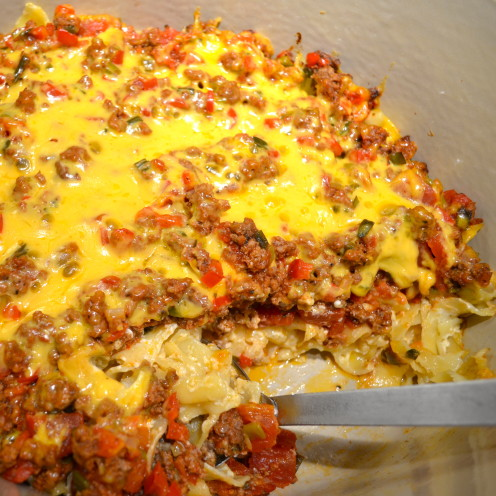 CHEESY TEX-MEX CASSEROLE | Recipe By www.AfterOrangeCounty.com