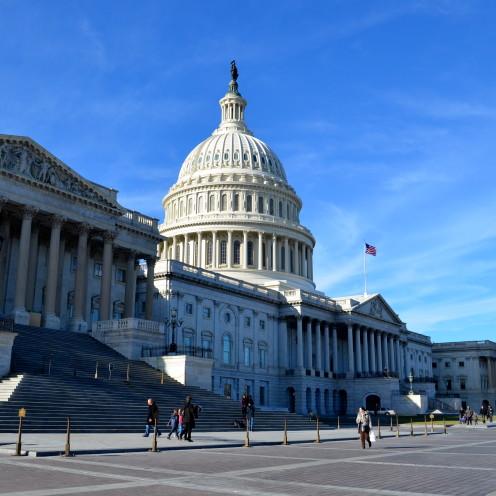 The U.S Capitol, by www.AfterOrangeCounty.com