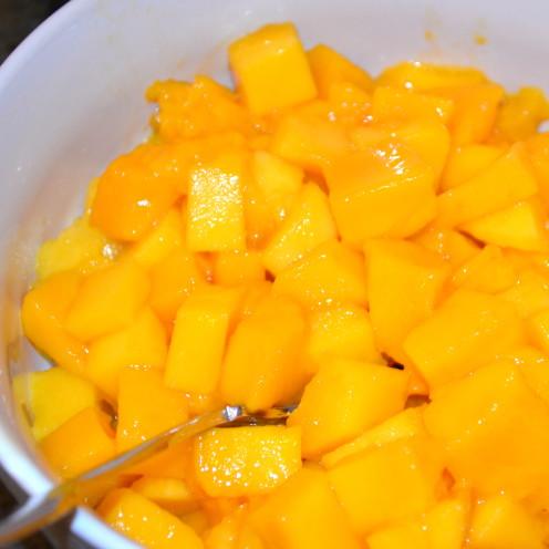 Mango & Sour Cream Pancakes | Recipe By AfterOrangeCounty.com