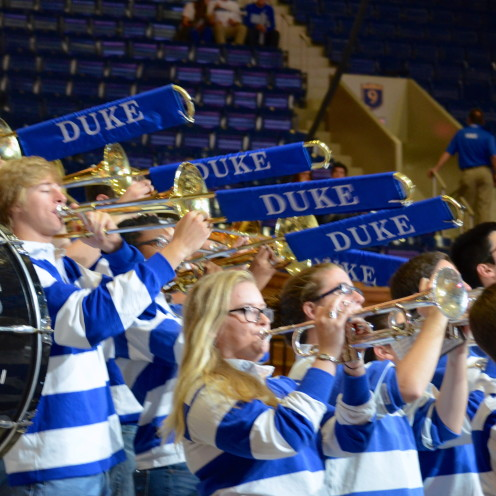 DUKE BASKETBALL - LIVE FROM CAMERON STADIUM! | www.AfterOrangeCounty.com