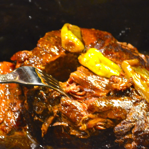 Peperoncini Pot Roast | Delicious & Easy Recipe By www.AfterOrangeCounty.com