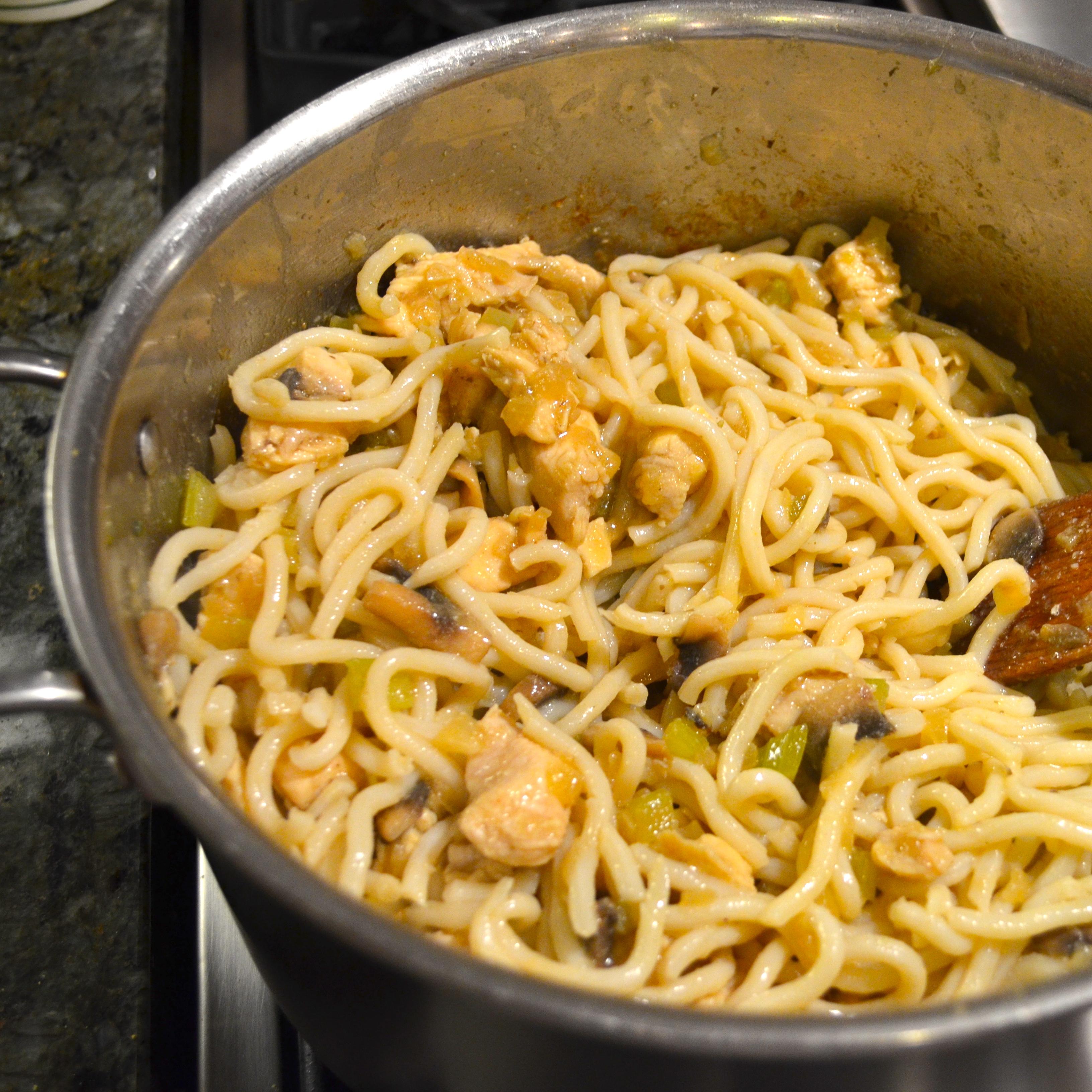 Recipes Chicken Udon Noodles