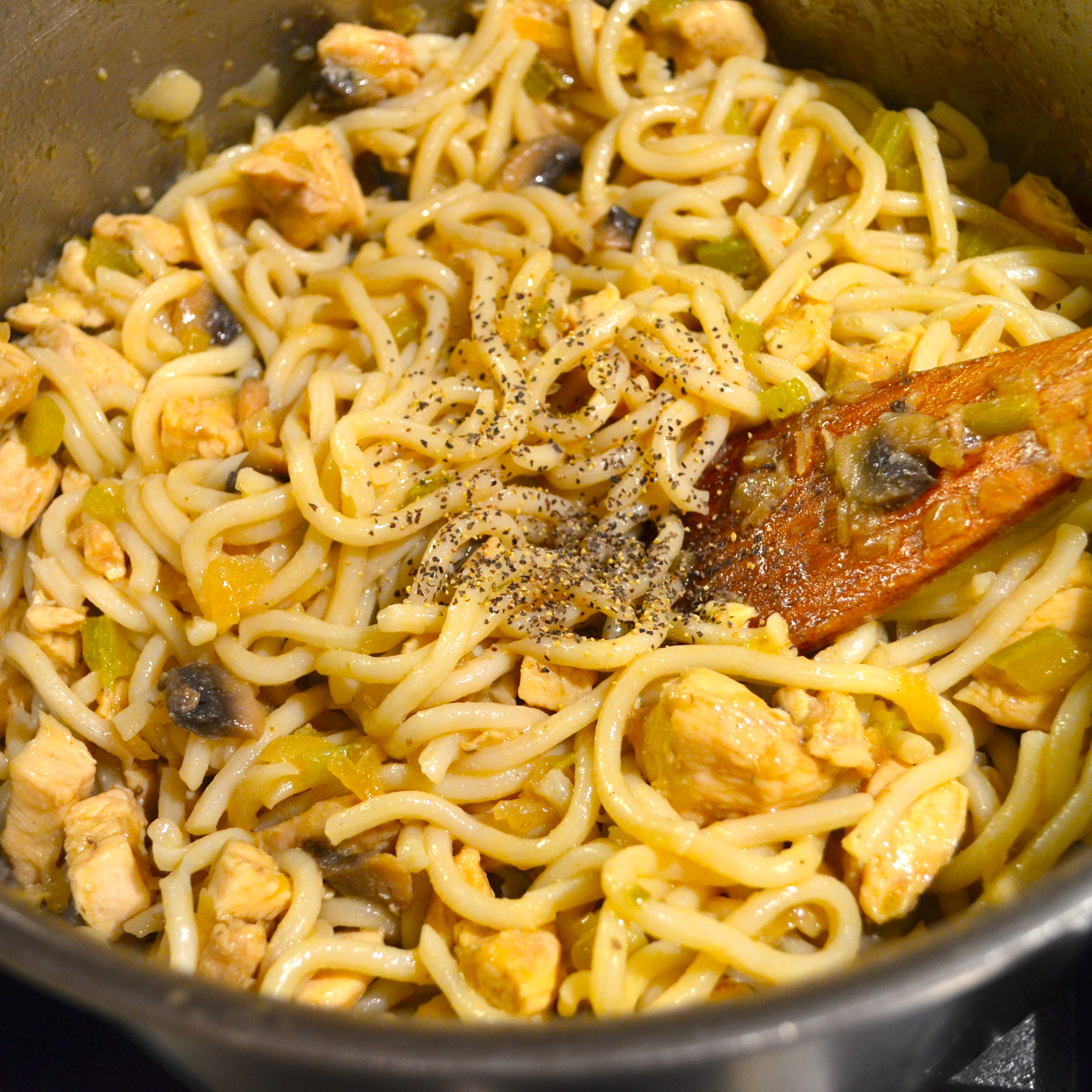 Recipes Chicken Udon Noodles: UDON NOODLES WITH CURRIED CHICKEN