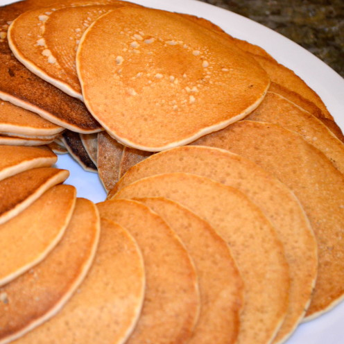 Sour Cream Pancakes | Recipe By AfterOrangeCounty.com