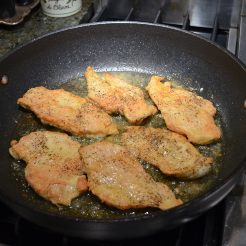 DELICIOUS DIJON ROSEMARY ORANGE CHICKEN CUTLETS | Recipe By www.AfterOrangeCounty.com