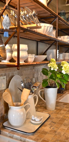 MY BIG BEAR LAKE COTTAGE KITCHEN IS FEATURED ON THE ENCHANTED HOME.BLOGSPOT.COM | www.AfterOrangeCounty.com