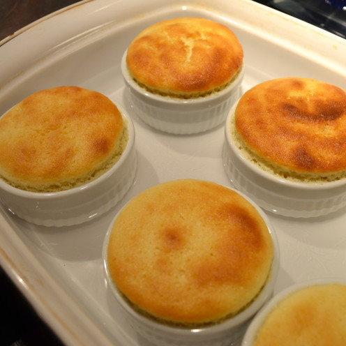 Lemon Pudding Cake | Recipe By www.AfterOrangeCounty.com