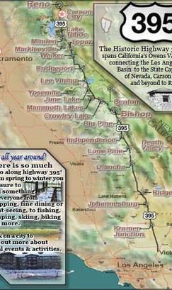 Scenic Route 395 links Los Angeles to Reno, Nevada | www.AfterOrangeCounty.com