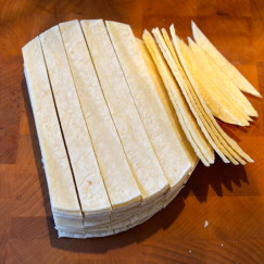 Homemade Tortilla Chips for Taco Soup \ www.AfterOrangeCounty.com