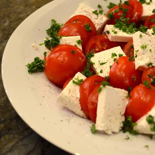 Tomato & Feta Salad | www.AfterOrangeCounty.com