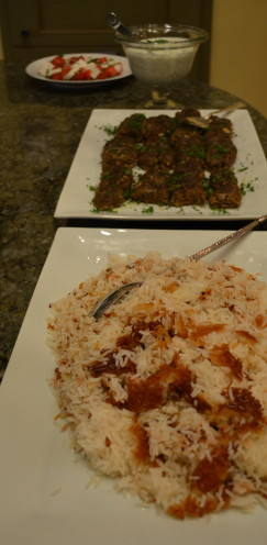 """Chelo"" or Crispy Persian Rice Recipe   Celebrating Spring with a Typical Nowruz Feast   www.AfterOrangeCounty.com"
