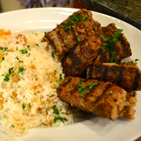 Chelo Kebab Recipe | Celebrating Spring with a Typical Nowruz Feast | www.AfterOrangeCounty.com