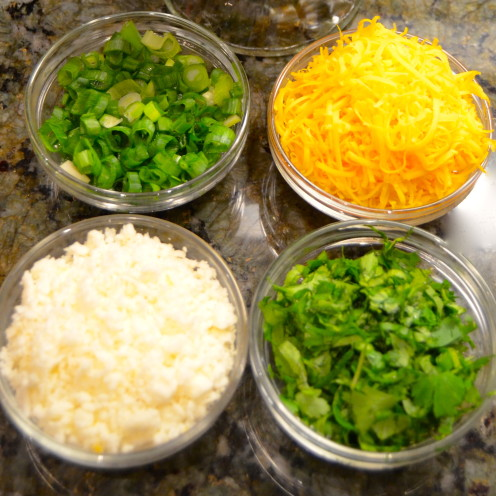 Toppings for Taco Soup | www.AfterOrangeCounty.com