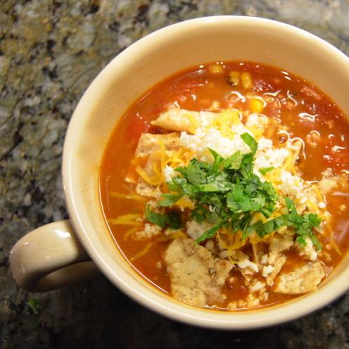 Taco Soup Recipe | www.AfterOrangeCounty.com