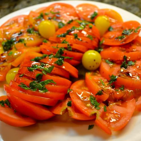 Home Grown Tomatoes | www.AfterOrangeCounty.com