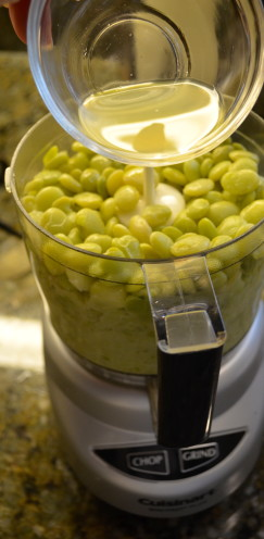 Lima Bean Dip with Garlic & Feta Cheese Recipe | www.AfterOrangeCounty.com