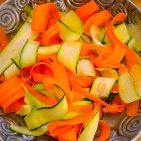 Ribbon Salad | Recipe By www.AfterOrangeCounty.com