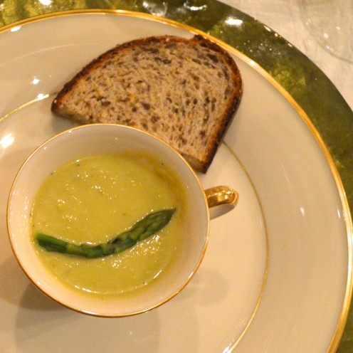 Cream of Asparagus Soup | www.AfterOrangeCounty.com