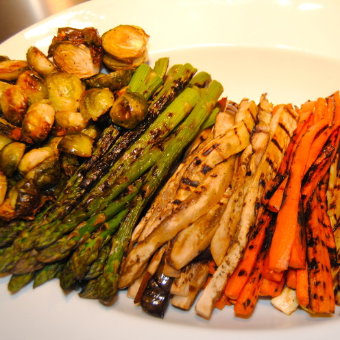 Grilled Spring Vegetables | www.AfterOrangeCounty.com
