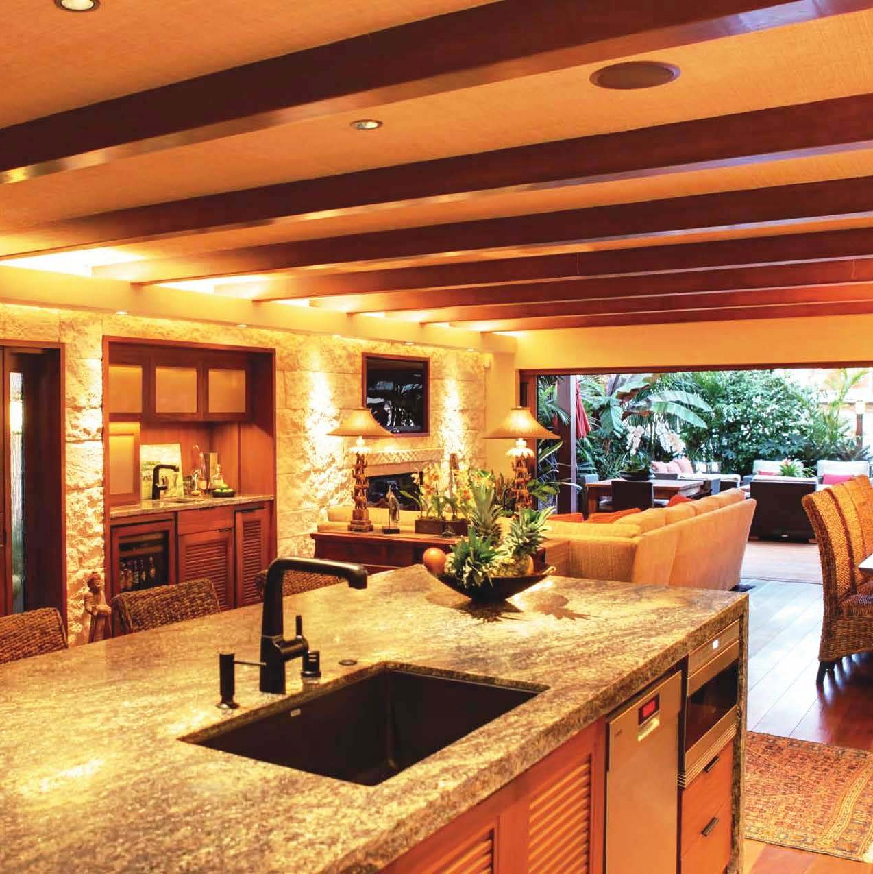 Balinese Kitchen Design A Visit To A Beautiful Balinese Style Waterfront Home After