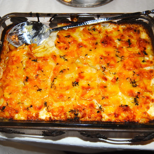Herbed Scalloped Potatoes Recipe | www.AfterOrangeCounty.com