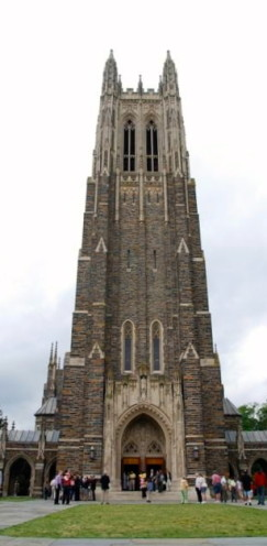 Duke University Chapel | www.AfterOrangeCounty.com