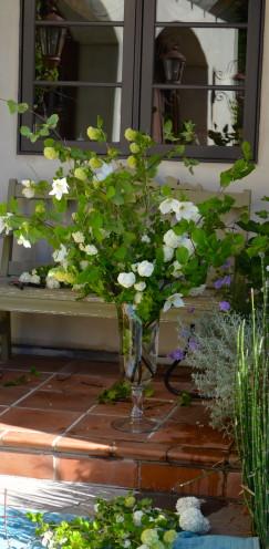 Forest Foraged Flowers | www.AfterOrangeCounty.com