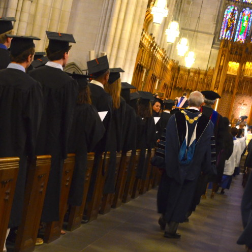 Duke University Baccalaureate Service 2014 | Duke Chapel | www.AfterOrangeCounty.com