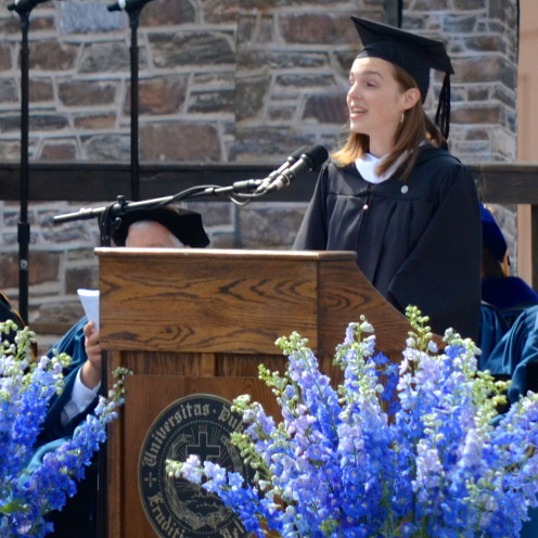 Jennifer Sherman | Duke University Commencement 2014 | www.AfterOrangeCouty.com