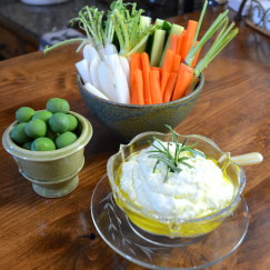 Sweet Paul's Lemon Feta Dip | www.AfterOrangeCounty.com