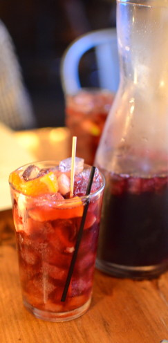 Sangria at Mateo Bar de Tapas, Durham, NC | www.AfterOrangeCounty.com